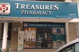 Treasures Pharmacy for sale- Bukit Jalil Malaysia
